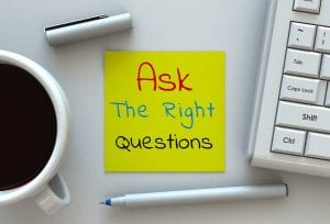 Illustration: ask the right question
